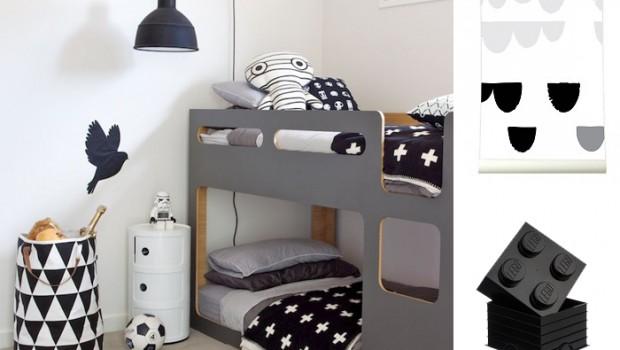 Zwart Wit Kinderslaapkamer : Zwart wit kinderkamer styling en inspiratie jongenskamers boyslabel