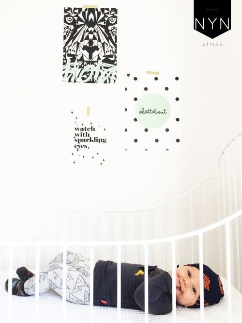 Posters voor de kinderkamer, quote posters quotes kinderkamers, nynstyles