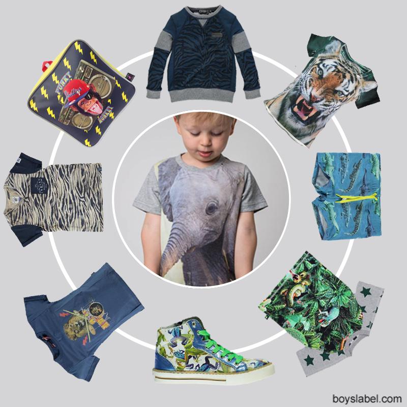 Animal prints kinderkleding, animal trend kinderkleding, kinderkleding met dierenprints, zomertrend kinderkleding 2015