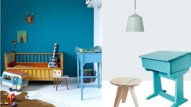 babykamer blauw paars ~ lactate for ., Deco ideeën