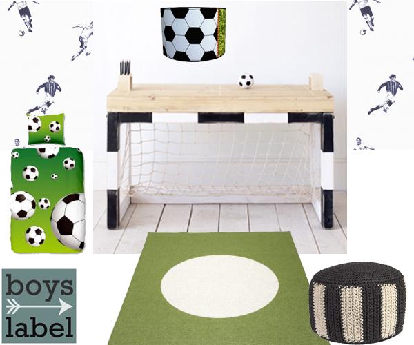 voetbalkamer ideeën voor jongens l jongenskamer inspiratie, Deco ideeën