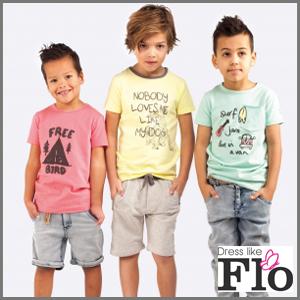 Flo jongenskleding, Flo kinderkleding
