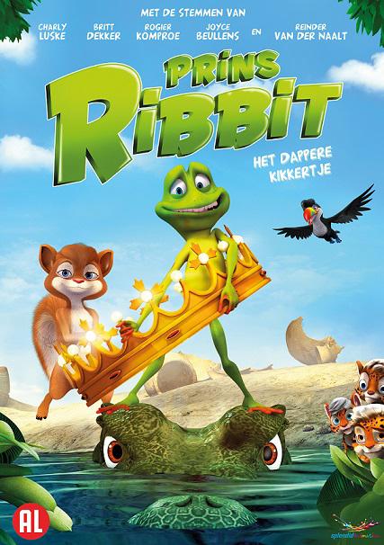 Prins Ribbit, DVD prins ribbit, prins ribbit winactie