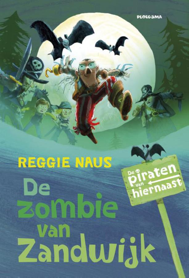 De zombie van Zandwijk, kinderboek, reggie naus, leuk jongensboek