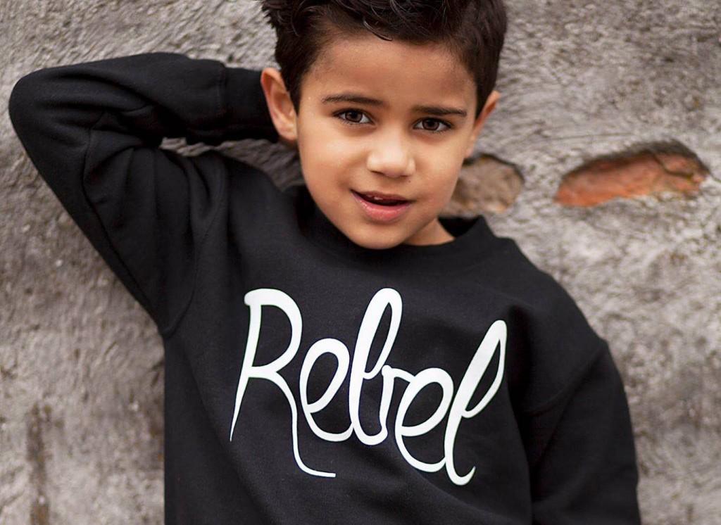 Jongenskleding, Rebel sweater, Colourful Rebel