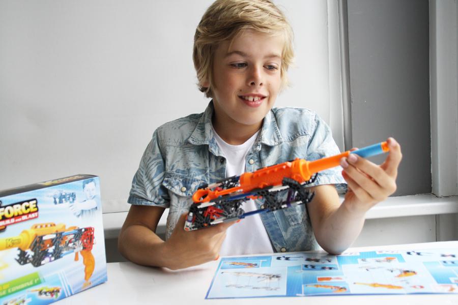 KNEX K-force, constructie speelgoed, nieuw speelgoed, leuk voor jongens, jongensspeelgoed, boyslabel review