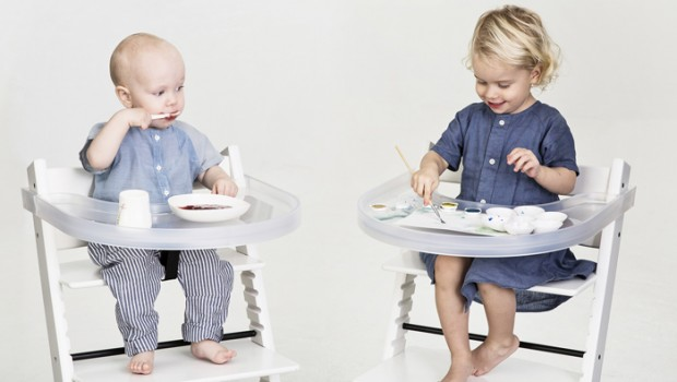 Playtray, stokke triptrap, dienblad kinderstoel