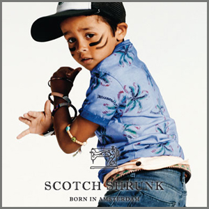 Scotch Soda jongenskleding, scotch shrunk, kinderkleding