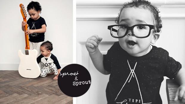 Sproet en sprout, sproetsprout kinderkleding, sproetsprout babykleding, hipster babykleding, urban kinderkleding
