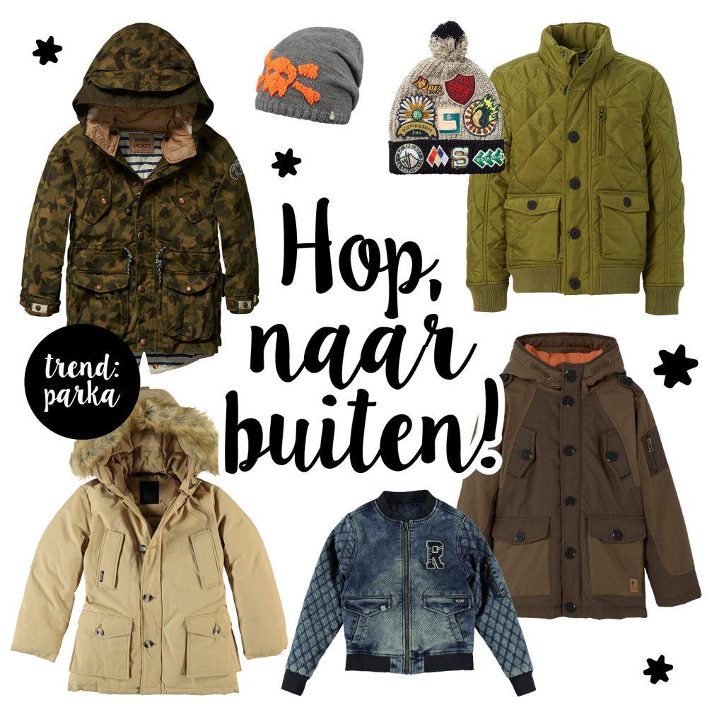 Winterjassen, winterjassen voor jongens, jongensjassen, kinderjassen