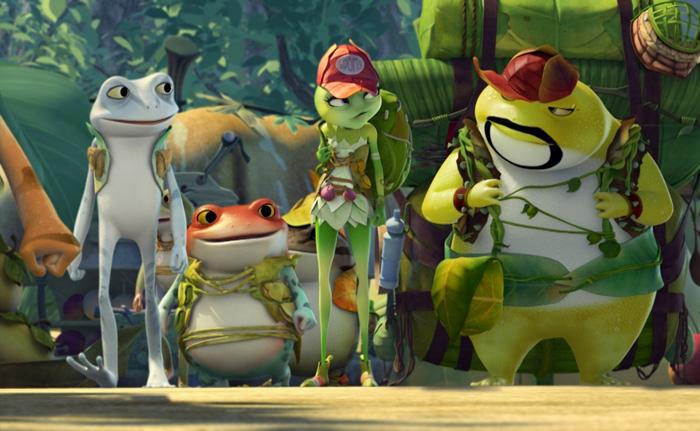 Freddie de Kikker 3D animatiefilm