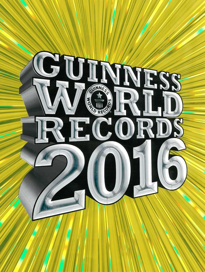 Guinness World Records 2016, wereldrecord boek