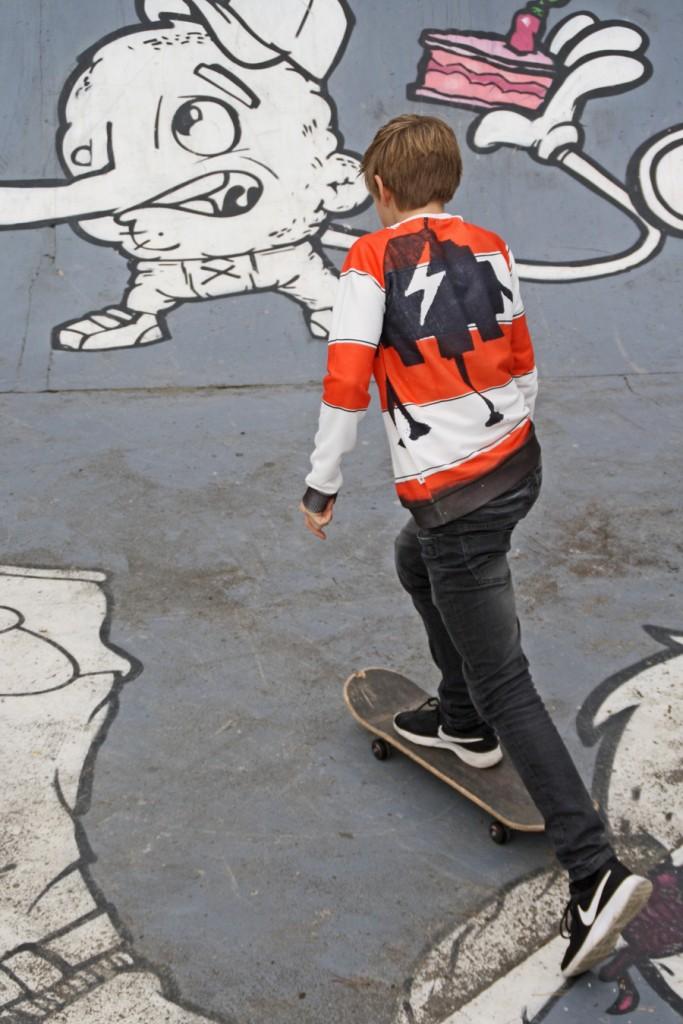 The Future is ours, stoere jongenskleding, skate kleding