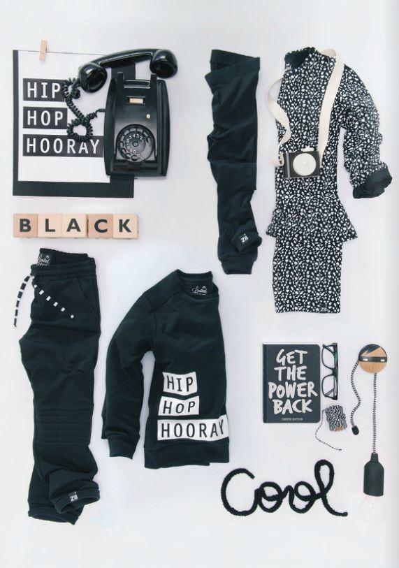 z8 zwart wit kleding, z8 black white, babykleding, kinderkleding