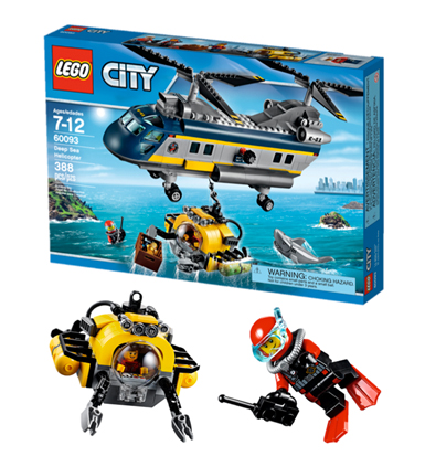 LEGO City Diepzee Helikopter, nieuwste lego speelgoed