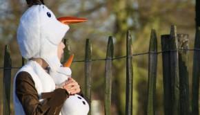 Olaf kostuum, verkleedkleding Frozen, carnavalskleding kinderen