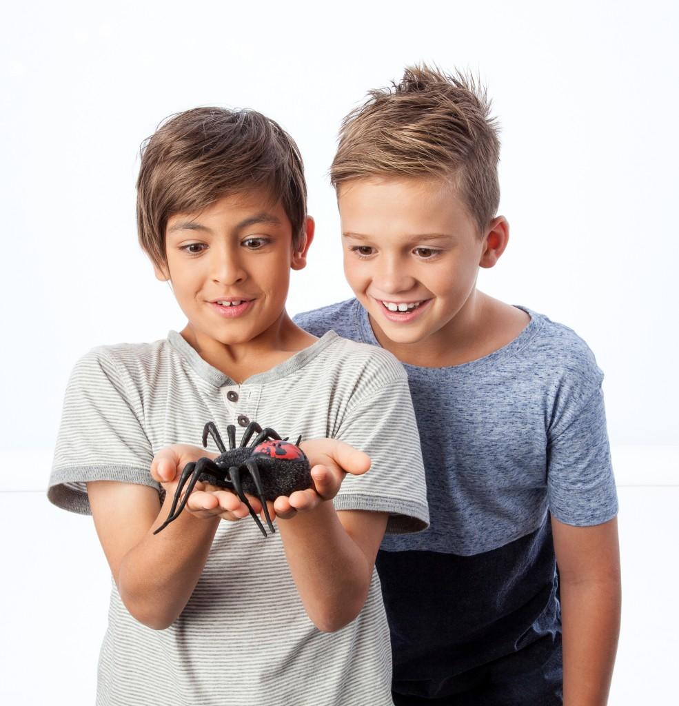 Wild pets, speelgoed spinnen