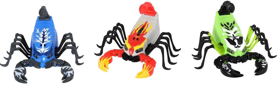 wild pets, speelgoed spinnen en schorpioenen, speelgoed dieren