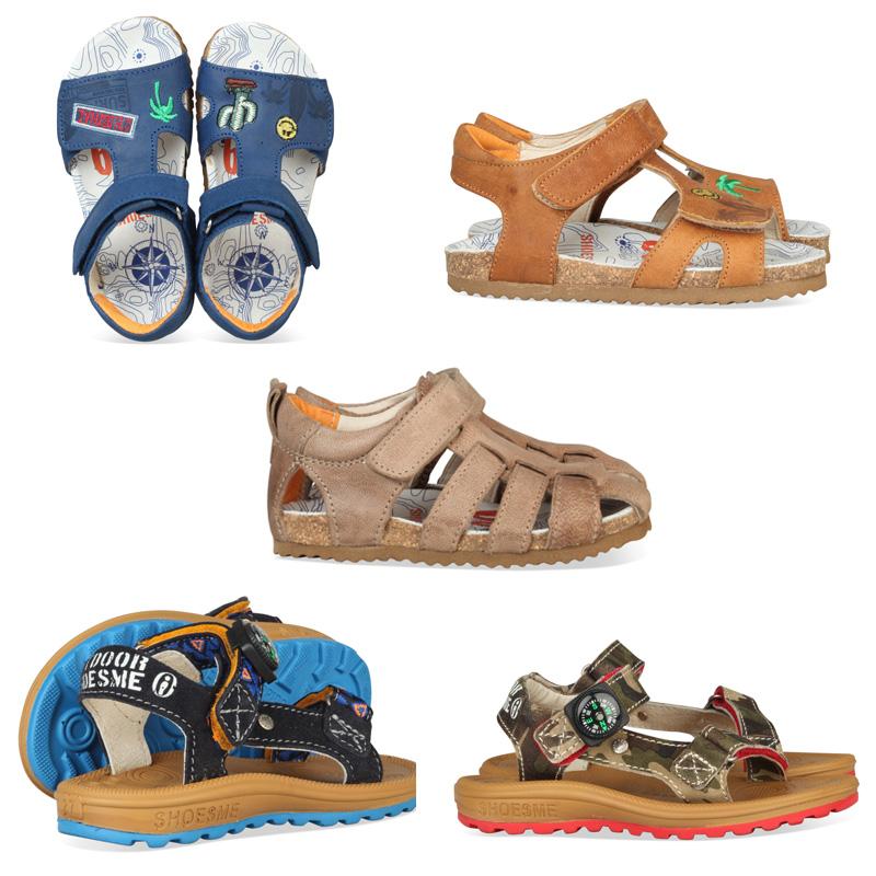 jongens sandalen, kindersandalen, stoere jongenssandalen