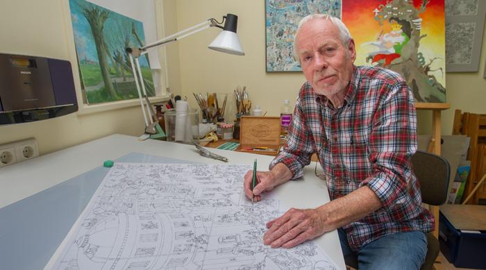 tentoonstelling striptekenaar jan van haasteren