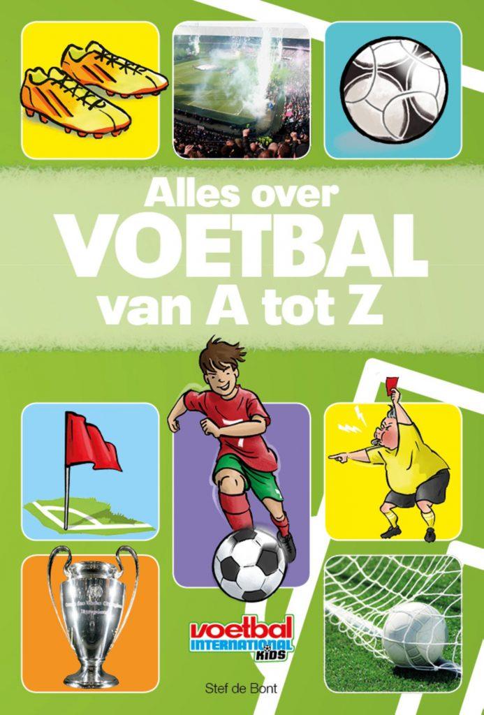 Alles over voetbal van A tot Z, stef de bont, voetbalboek
