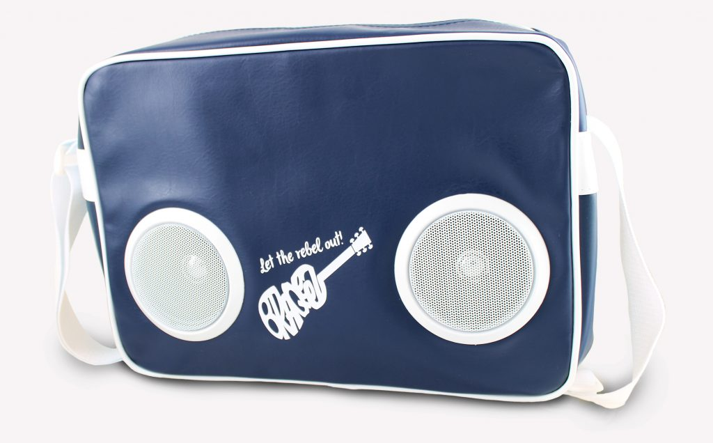 Braqeez speakerbag