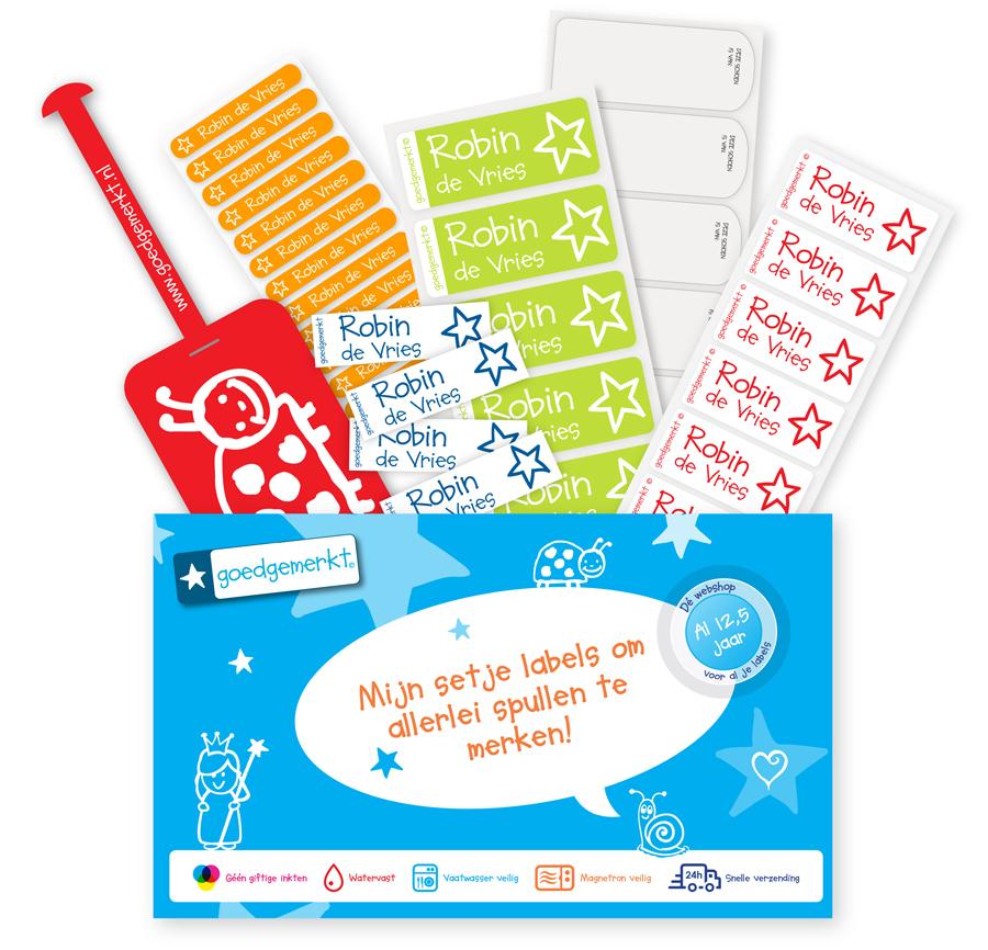 Backtoschool-pakket-goedgemerkt-naamstickers-plaklabels-met-naam-en-telefoonnummer