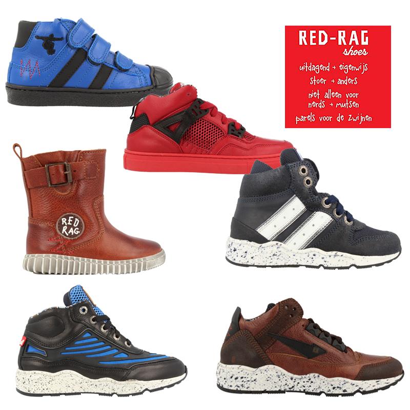red rag schoenen