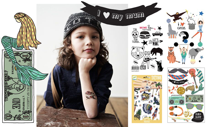 kinder tattoos, kindertatoeages, plak tattoos