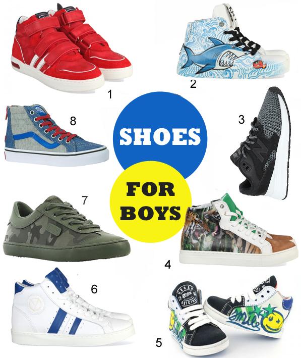 stoere jongensschoenen, kinderschoenen, zomer 2017