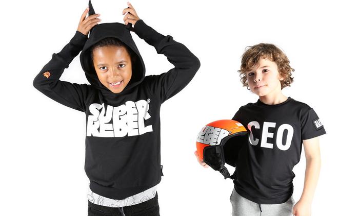super rebel, super rebel kidsgear, stoer kinderkledingmerk
