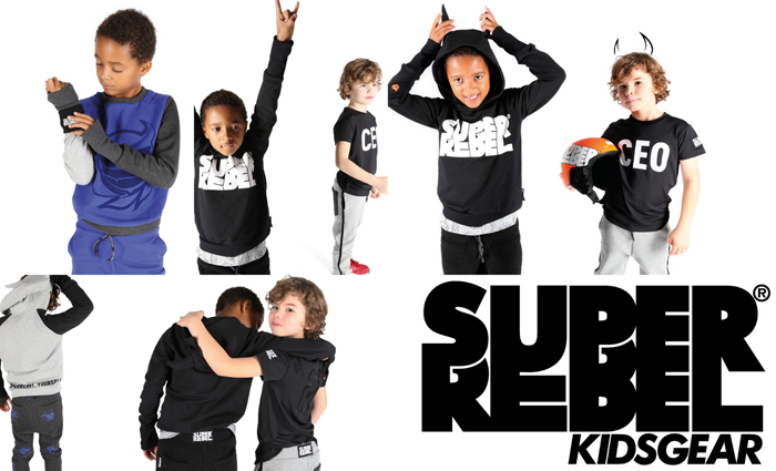 superrebel, super rebel kidsgear