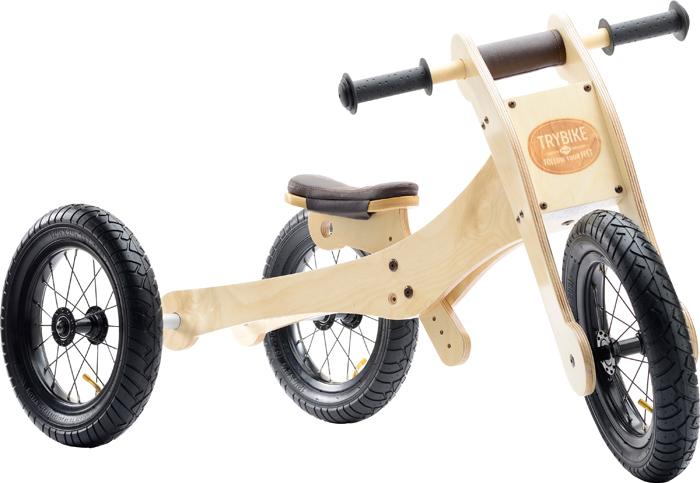 trybike, houten loopfiets, loopfiets, leren fietsen, jongenscadeau