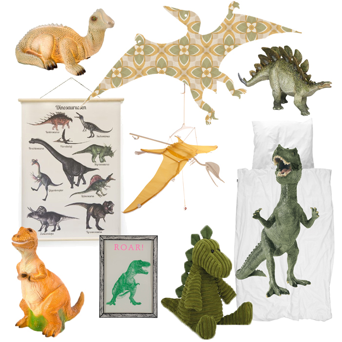 Dinokamer voor de jongens - Jongenskamer styling | BOYSLABEL