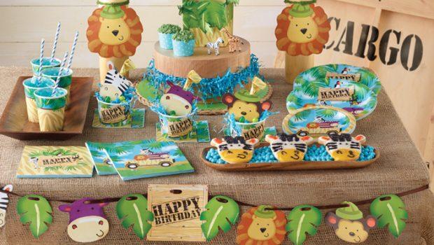 Populair Safari feestje / Jungle kinderfeestje tips en inspiratie   Boyslabel #KN52