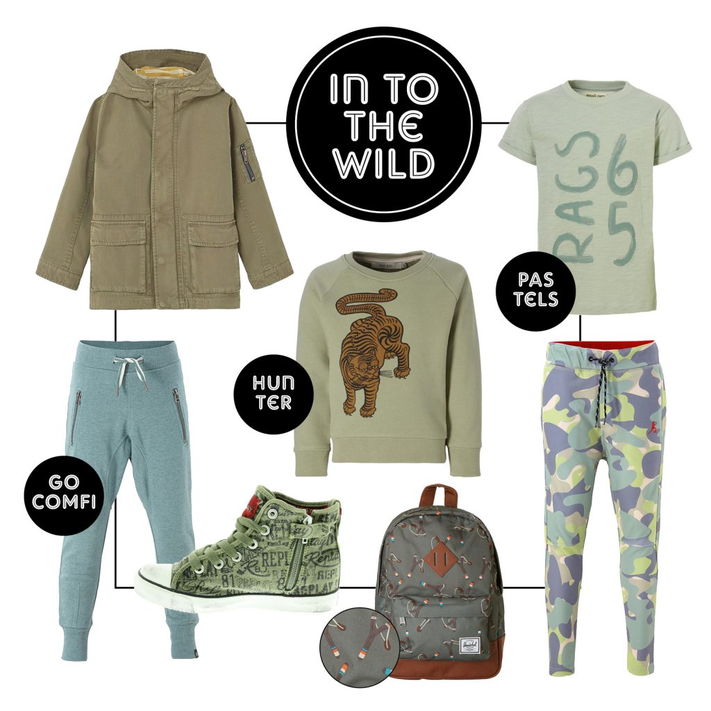 Into the wild, trend , kindermode