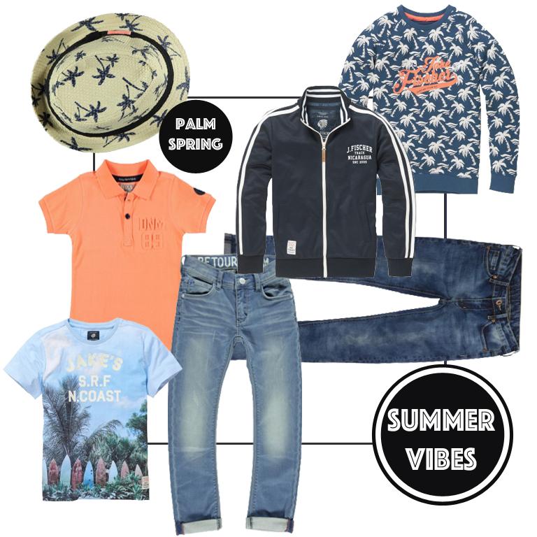 Kleertjesfabriek, hippe jongenskleding, zomerkleding jongens