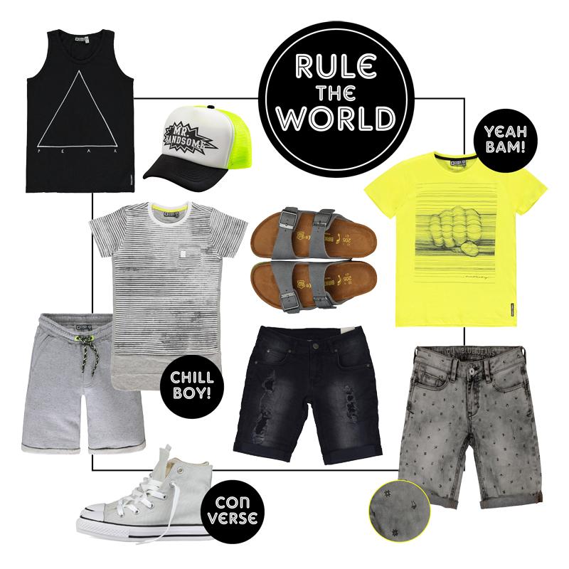 Stoere jongenskleding, zomerkleding