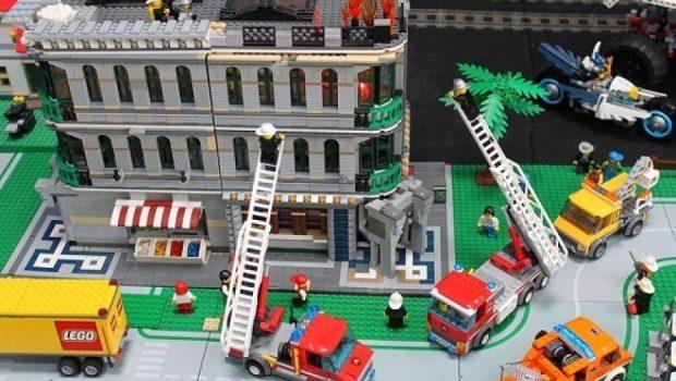 Brandweer LEGO City, LEGO brandweer kazerne