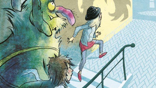 Trubbel de Trol, jongensboeken serie