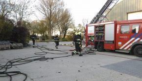 Brandweer oefening