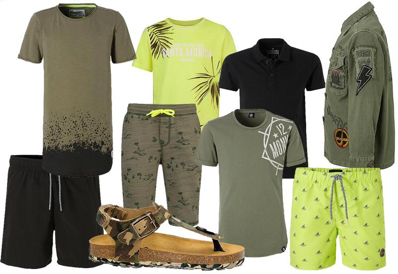 zomerlooks voor jongens, stoere zomerkleding kleding