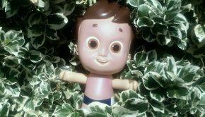 zonbescherming voor kinderen, nivea doll