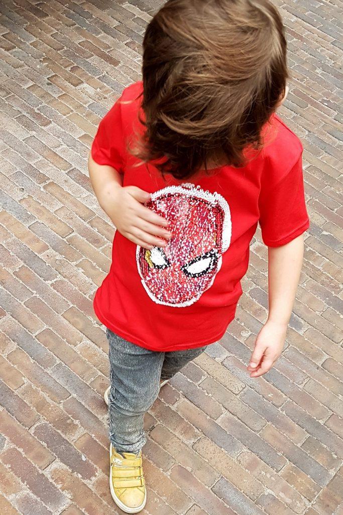 pailletten shirt jongens