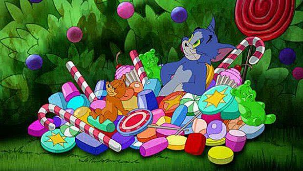Tom en Jerry- Sjakie en de chocoladefabriek