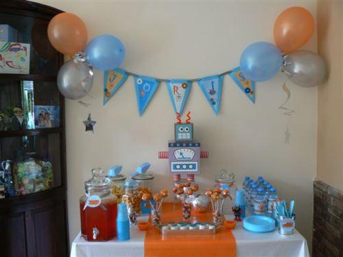 Favoriete Organiseer je eigen robot kinderfeestje! | Blog Boyslabel CA34