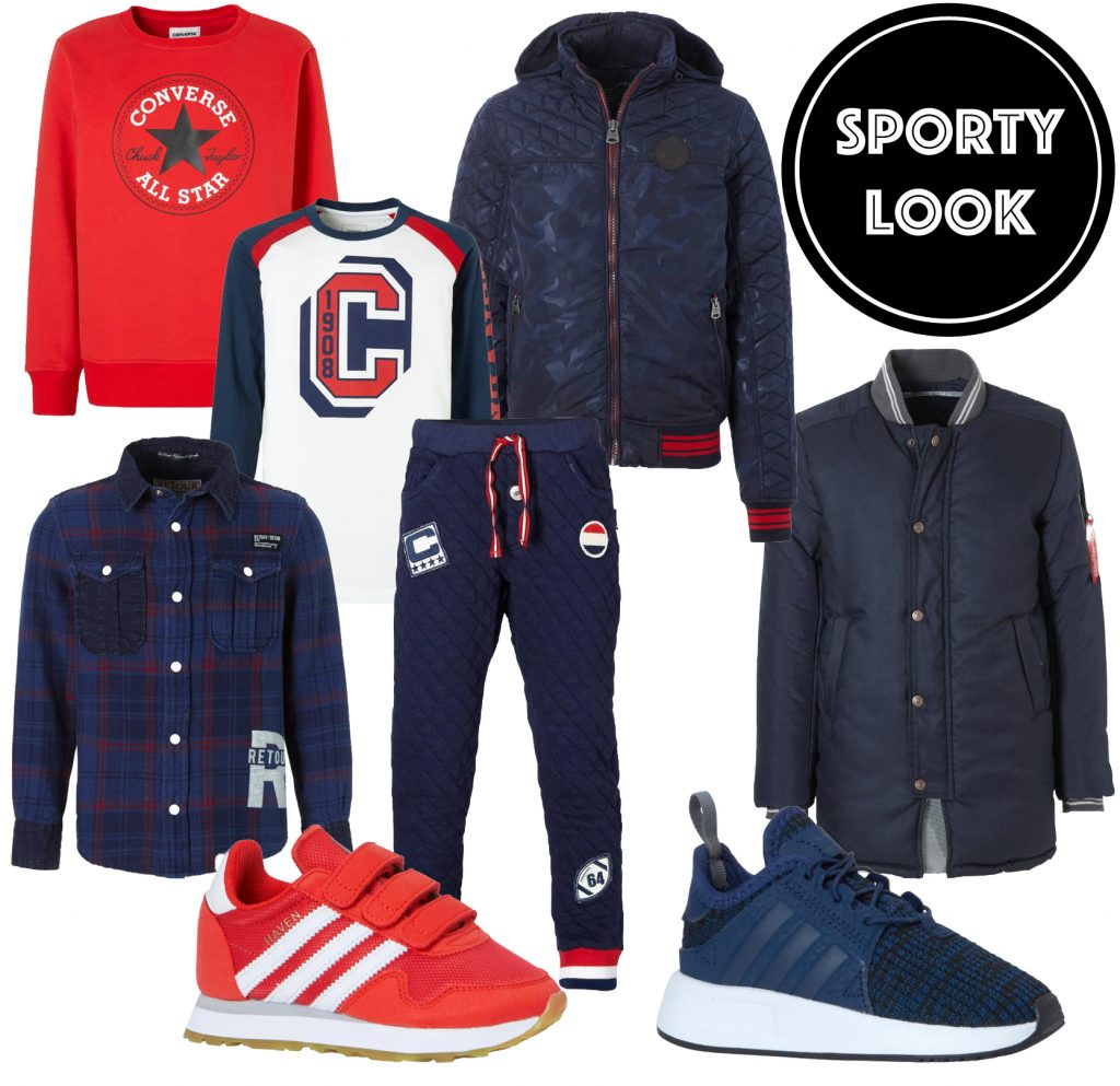 sports look, sportieve jongenskleding, get the look