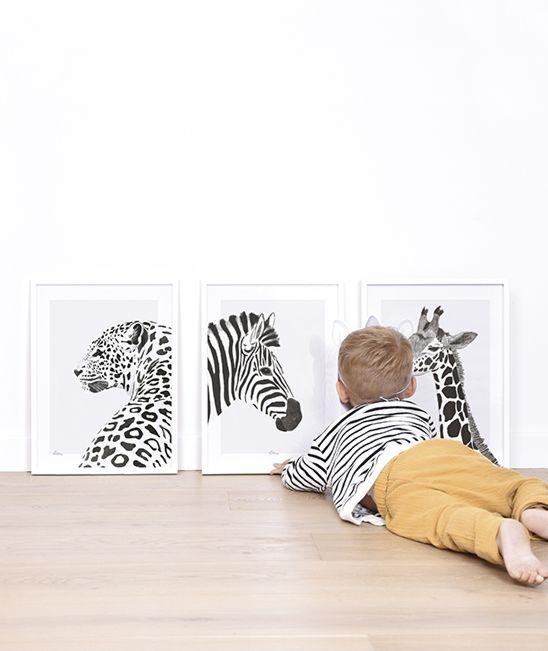 kinderposters, posters voor de jongenskamer, posters kinderkamer, dierenposter