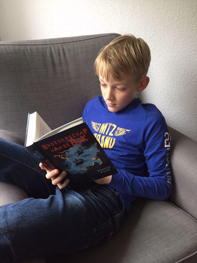 reggie naus, Broederschap van de Bok, kinderboeken, spannend kinderboek, boek jongen 12 jaar
