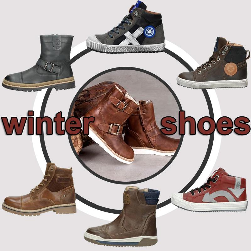 Schuurman schoenen, jongensschoenen, winter 2018